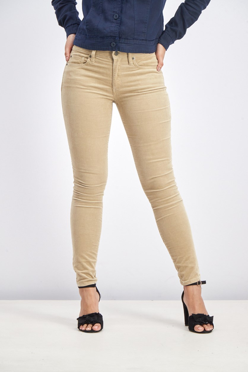 Women's  Stretch True Skinny Pants, Khaki