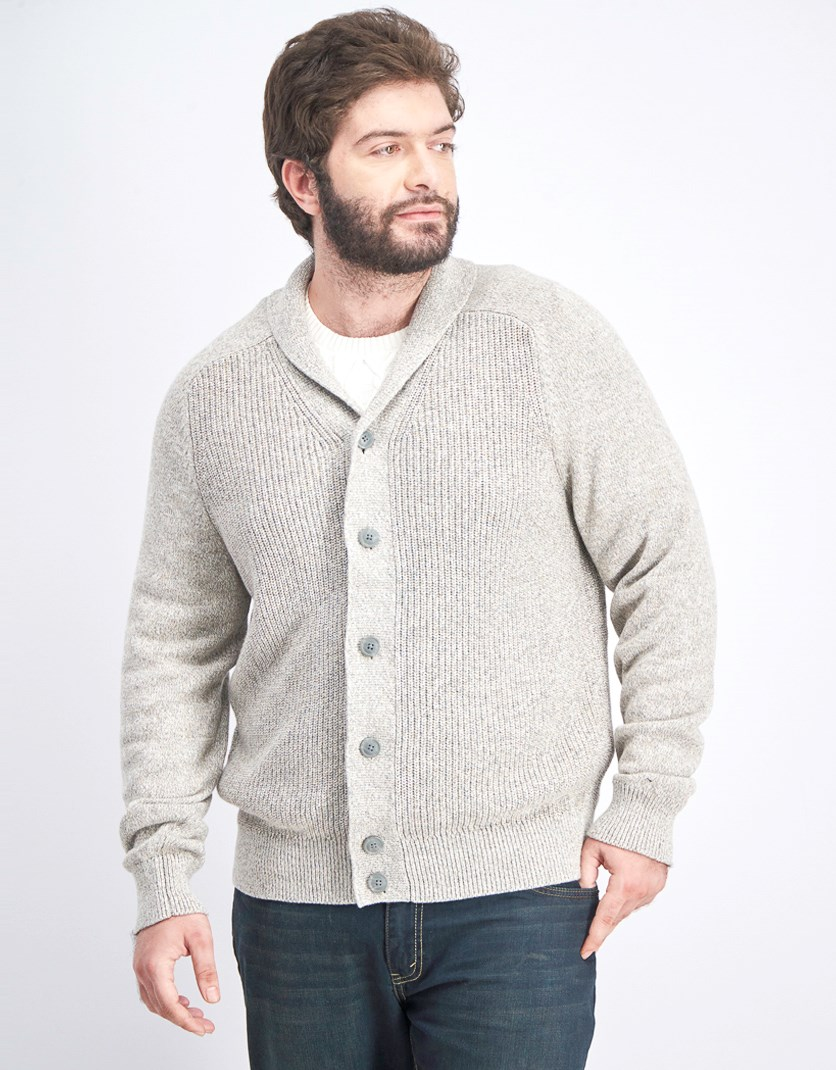 Men's Knitted Sweater, Classic Camel