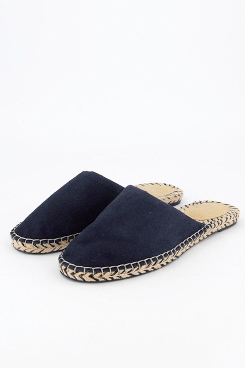 Women's Slip-On Mules, Navy