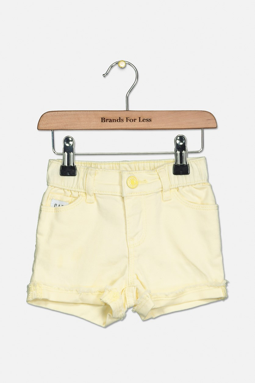 Toddler Girl's Short, Yellow