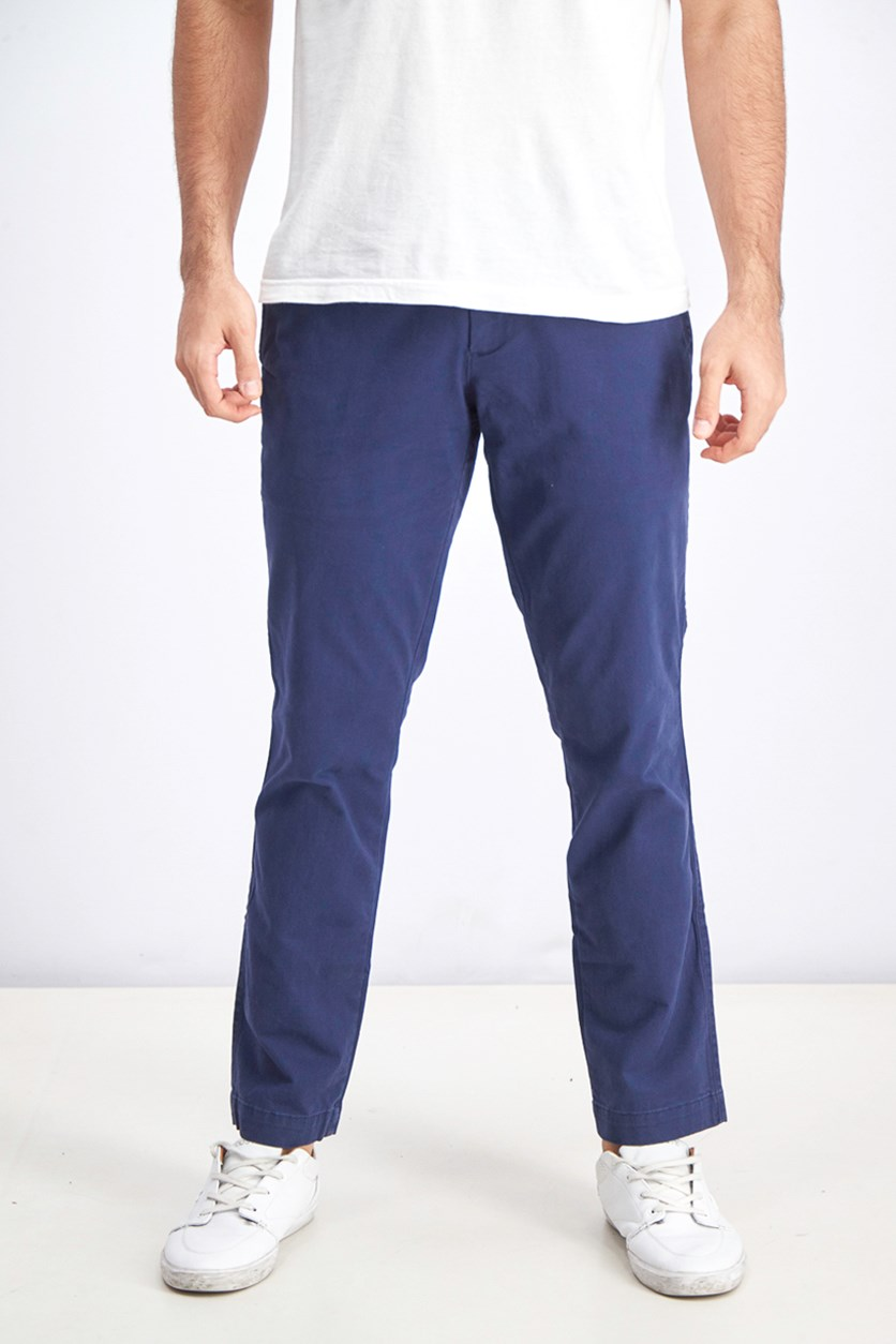 Men's Chino Slim Fit, Navy Blue