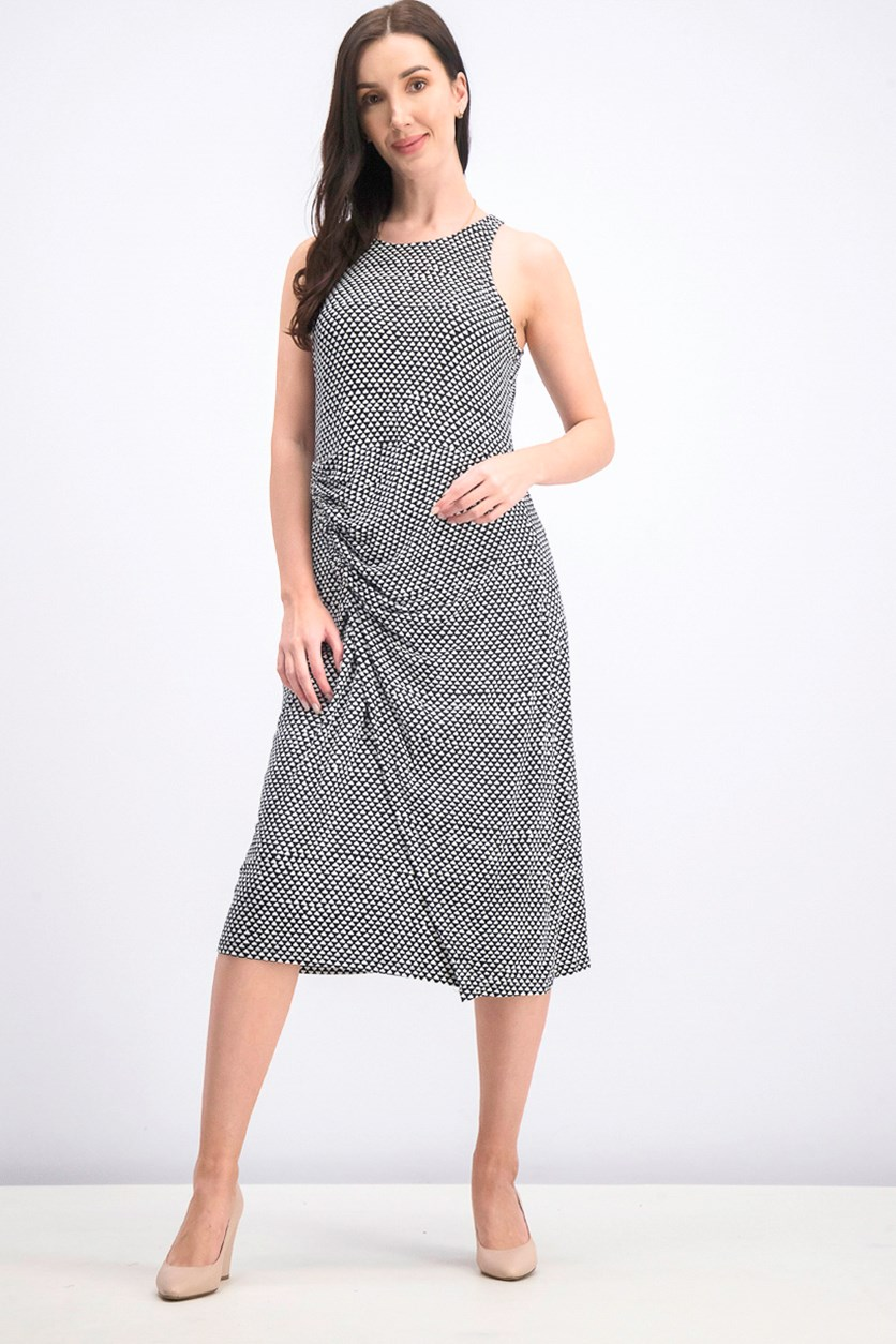 Women's Dress, Black/White