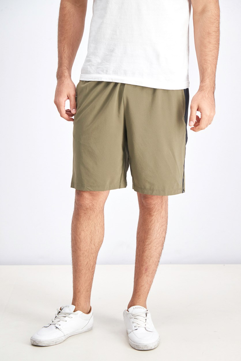 Men's Pull-On Shorts, Olive