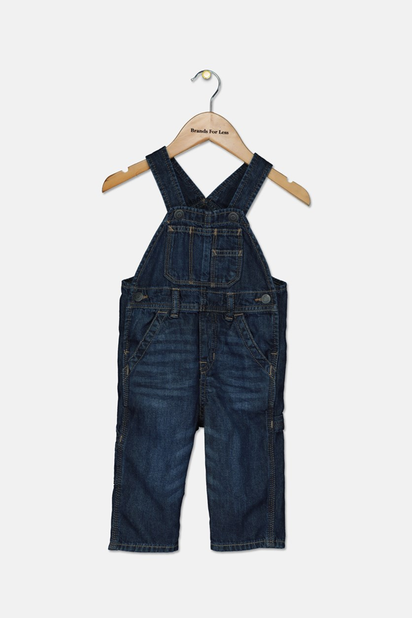 Toddlers Romper Denim, Blue