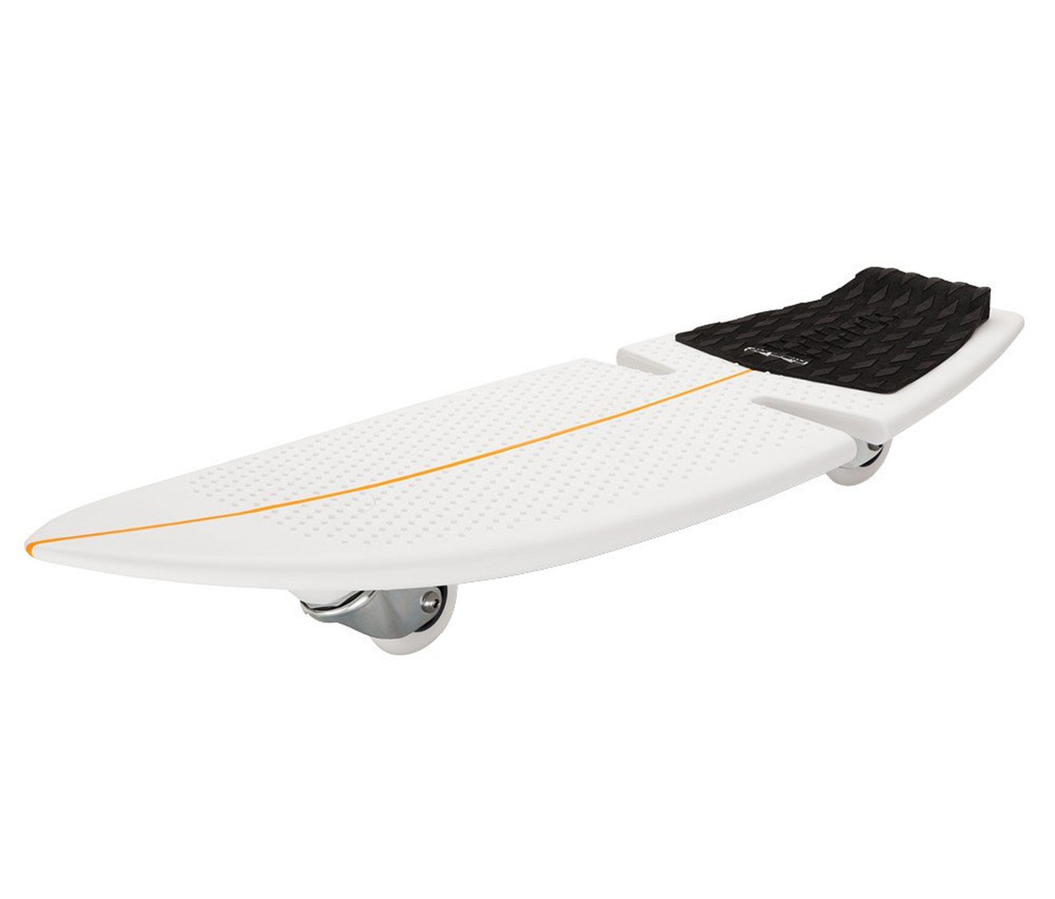 Razor Ripsurf Dry Land Caster Board, White/Black