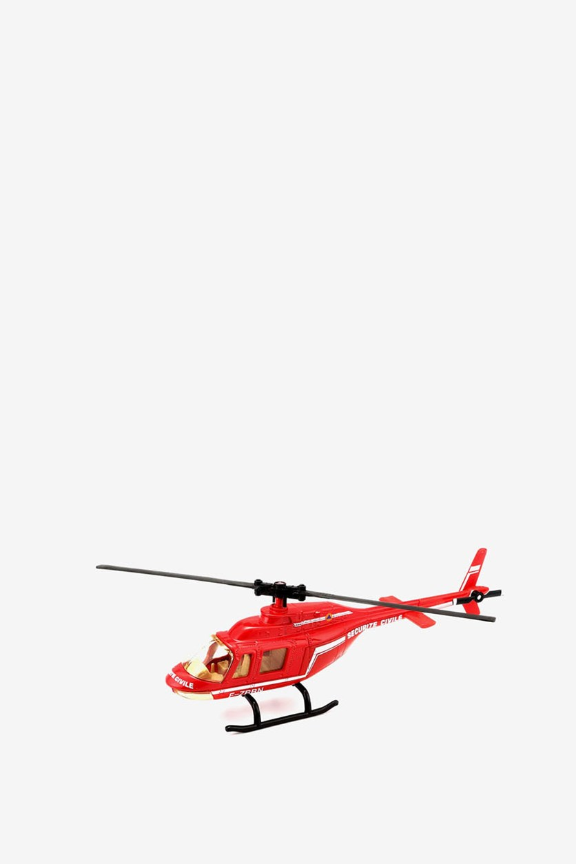 Boy's Helicopter Dispenser, Red