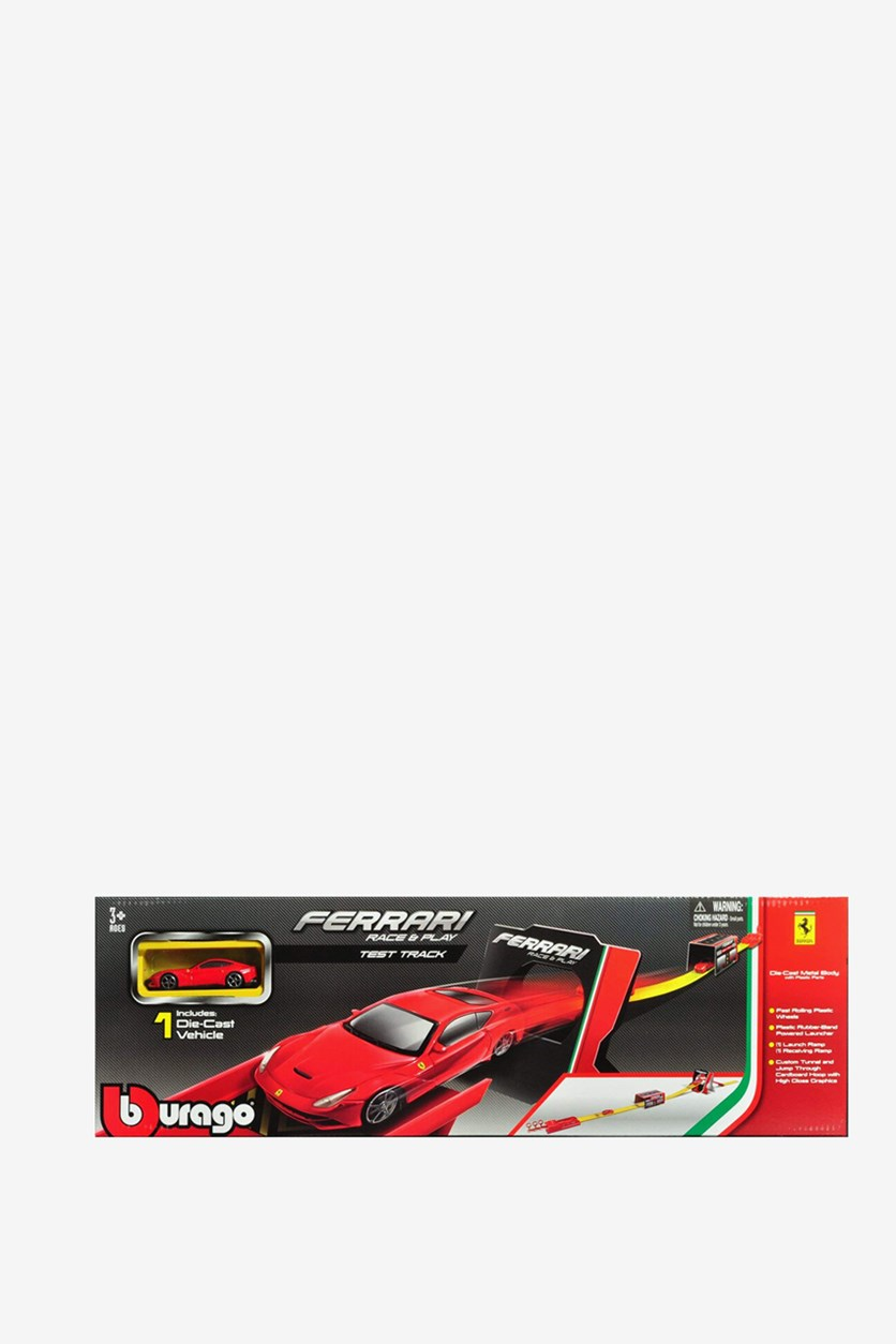 Race And Play Tes Track, Red
