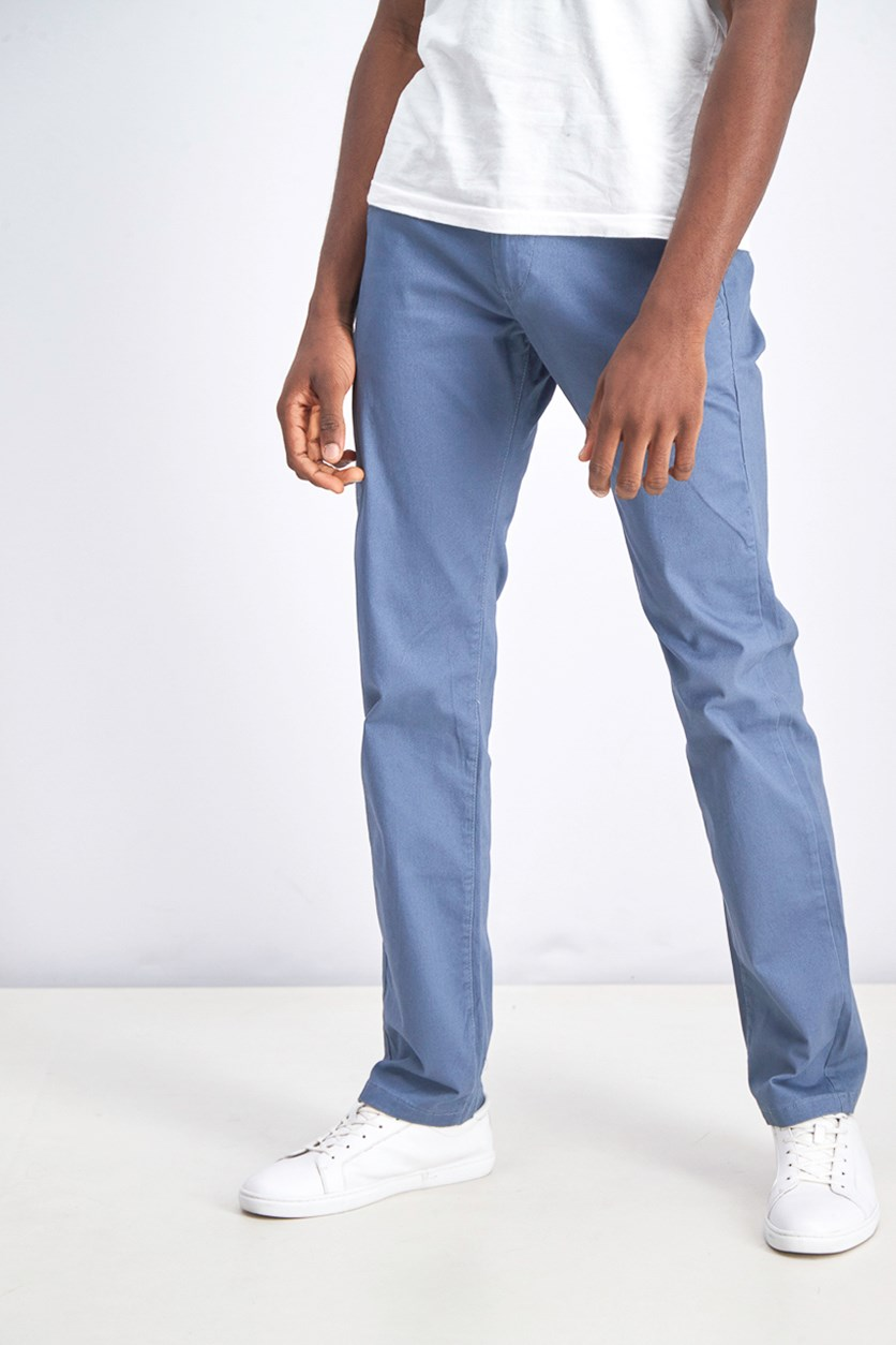Men's Castleton Chino Straight Pants, Teal