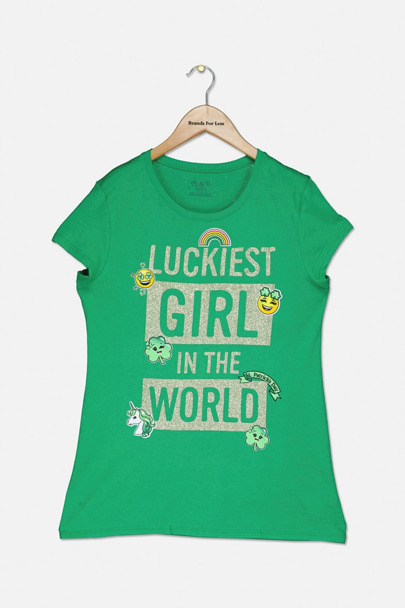 Luckiest Girl In The World Top, Green