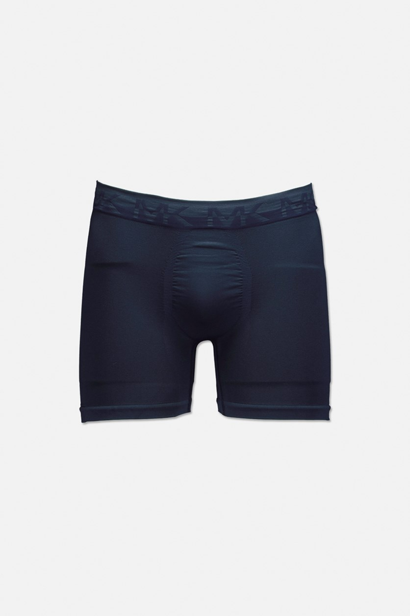 Men's Seamless Boxer Briefs, Navy