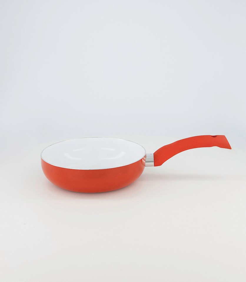Non Stick Frying Pan, Red