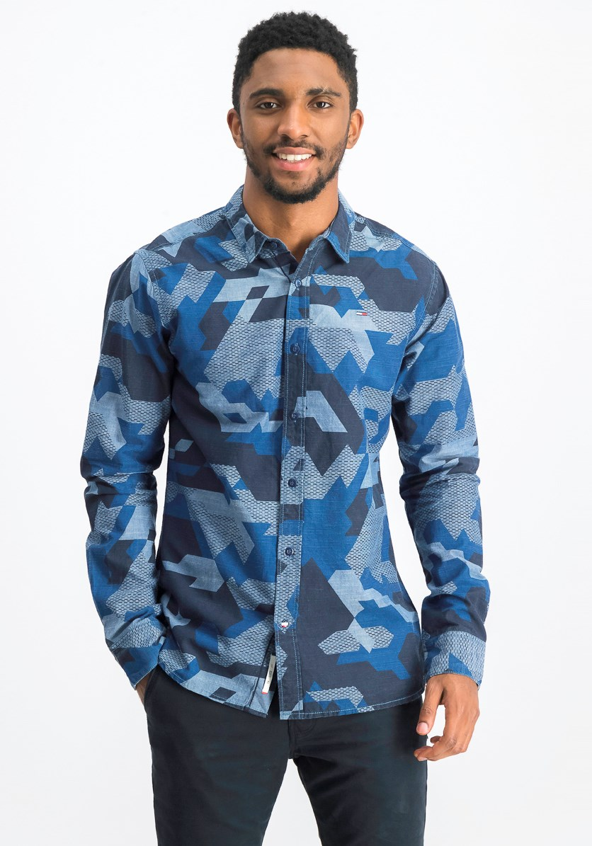 Men's Regular Fit Shirt, Navy