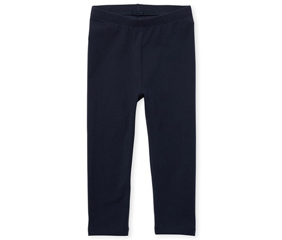 The children's place Toddler Girls Capri Leggings, Black