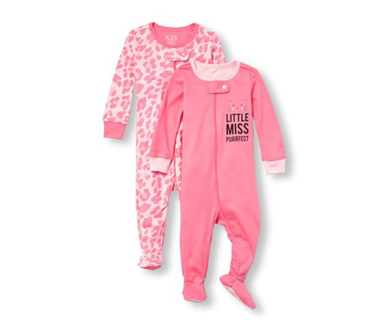 The Children's Place Baby Girl's Bodysuits Set Of 2, Pink