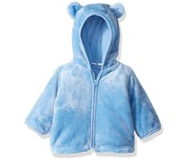 The Children's Place Baby Boys Cozy Jacket, Blue