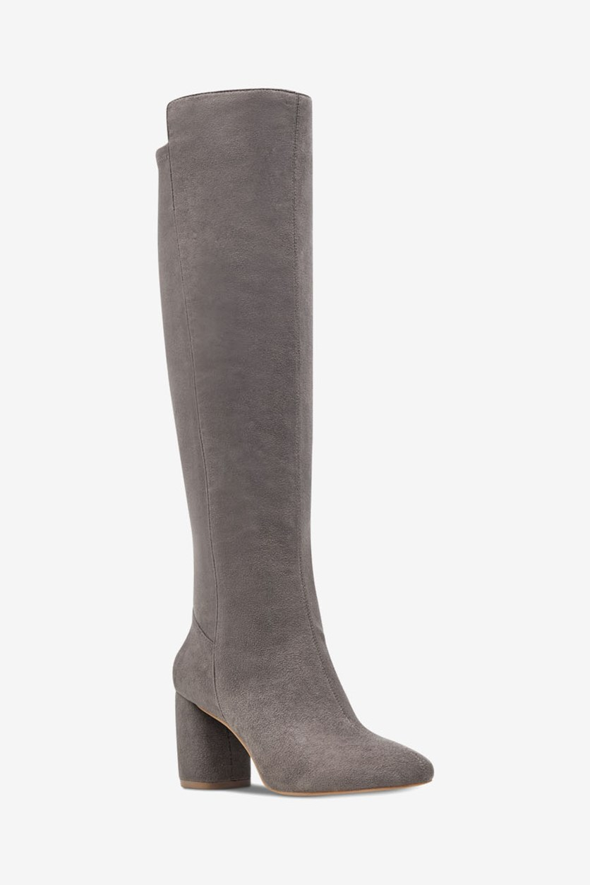 Women's Kerianna Knee High Boots, Grey Fab