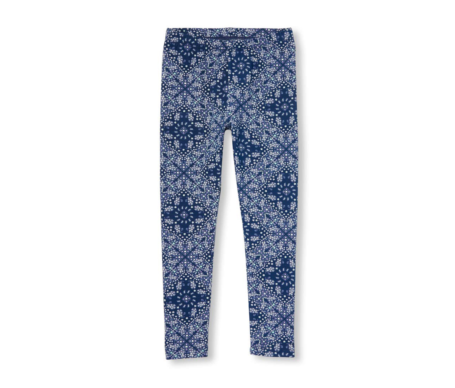 The Children's Place Girls Novelty Printed Leggings, Blue