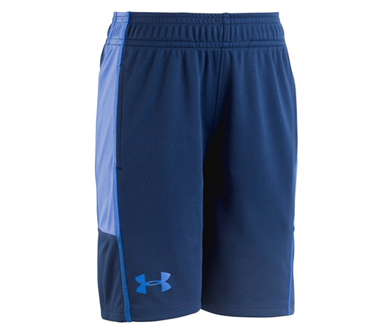Under Armour Boy's Stunt Shorts, Navy