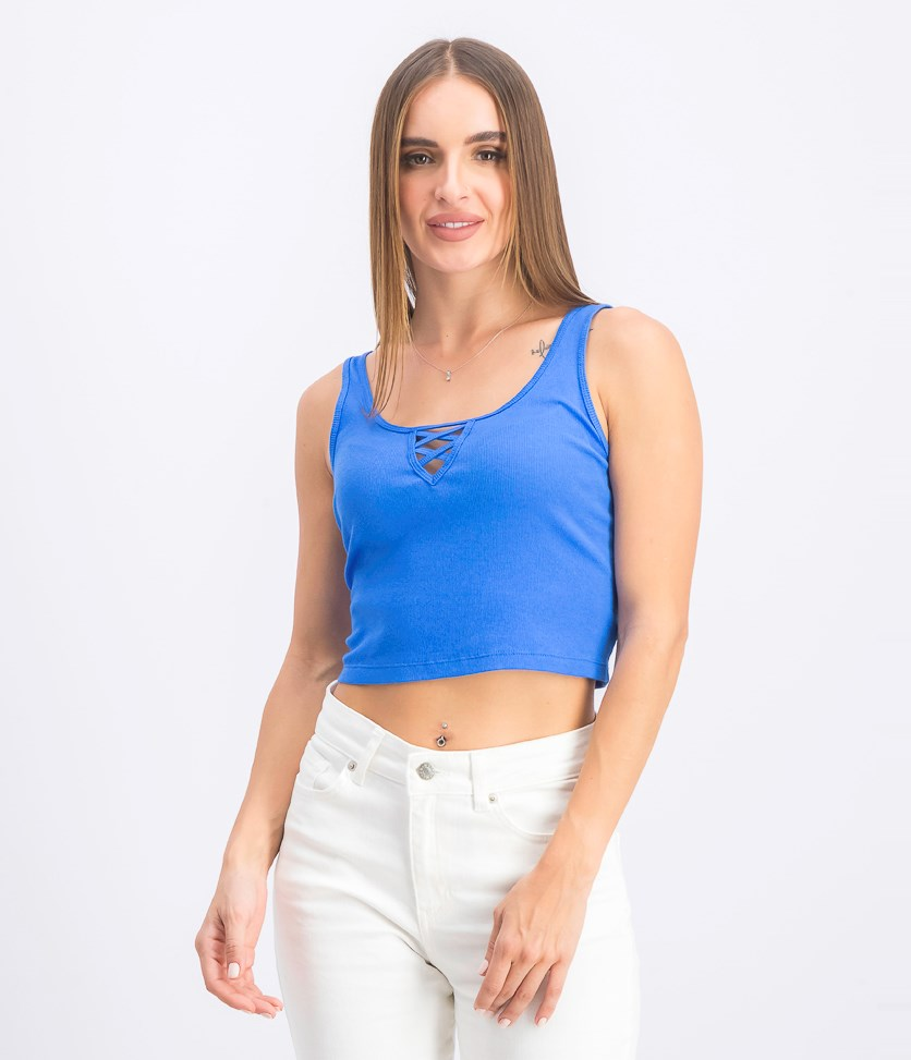 Women's Tank Tops, Blue