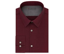 Men's Extra-Slim Fit Stretch Dress Shirt, Geranium