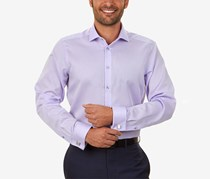 Men's Steel Non Iron Stretch Slim Fit Dress Shirt, Lilac