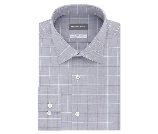 Men's Classic/Regular Fit Non-Iron Dress Shirt, Chianti