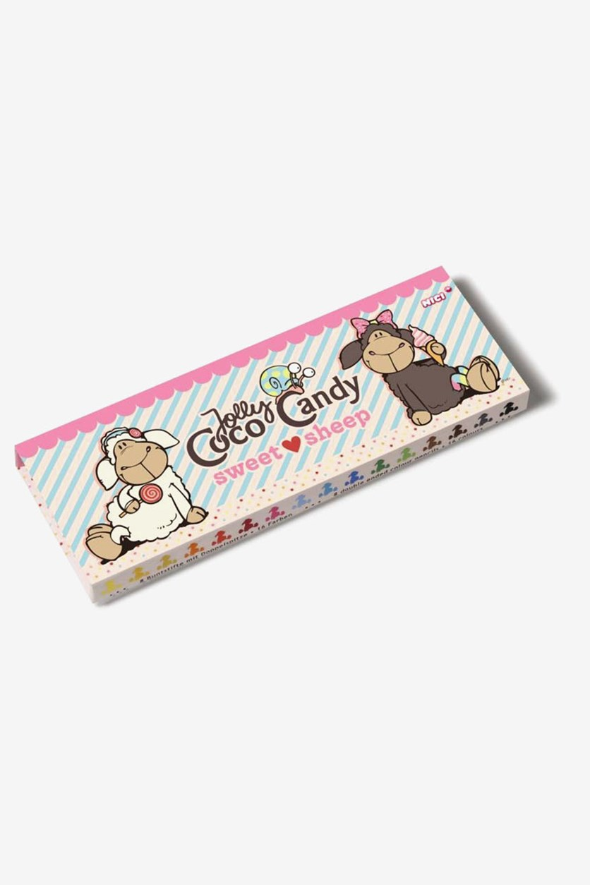 Colored Pencil Box Sweet Sheep, Beige Combo