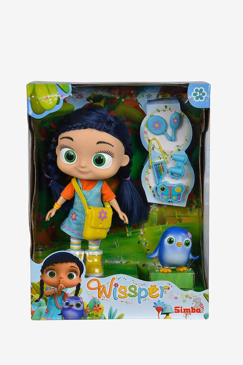 Wissper and Peggy Starter Soft Doll, Blue Combo