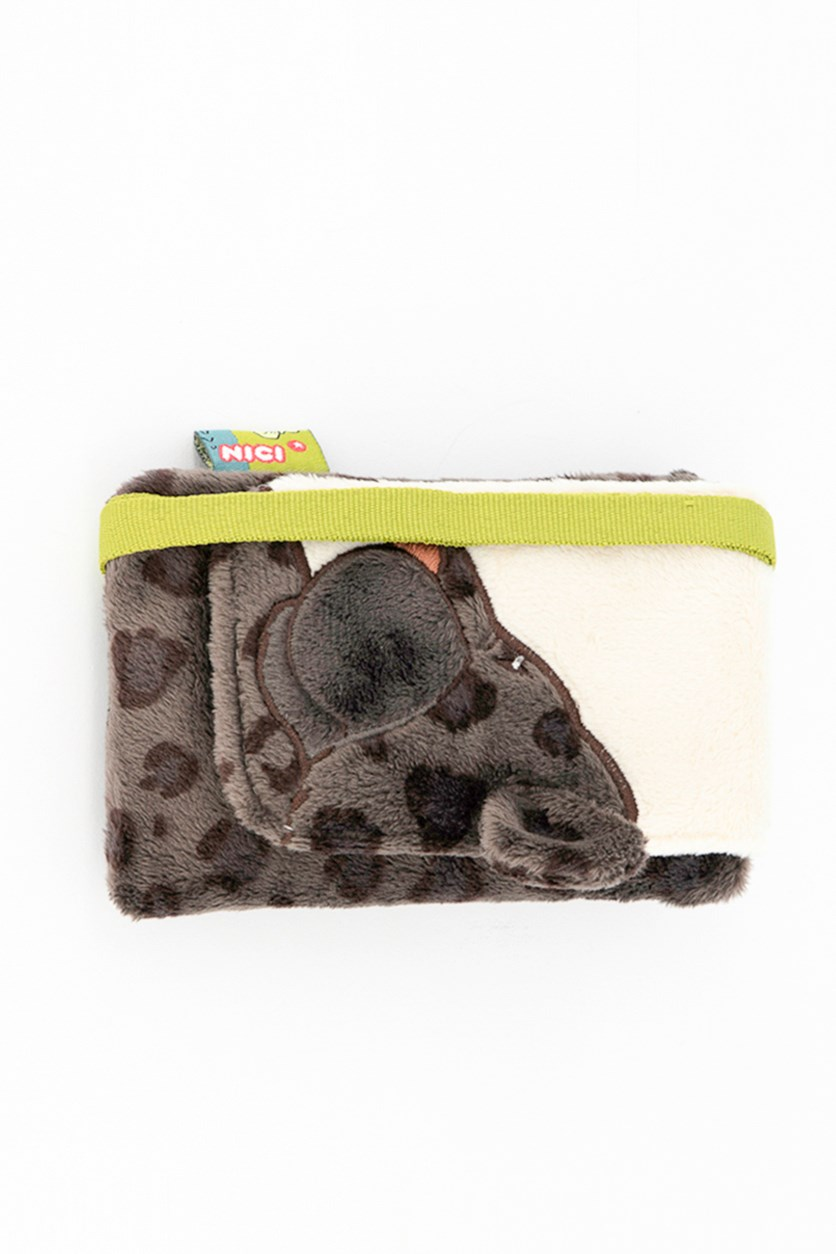 Cell Phone Bag Sloth, Brown/White