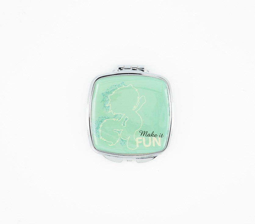 Kids Pocket Mirror, Turquoise