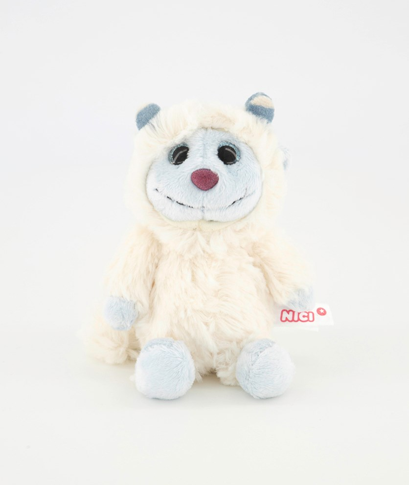 Thread Mascot Yeti Sam, White/Blue