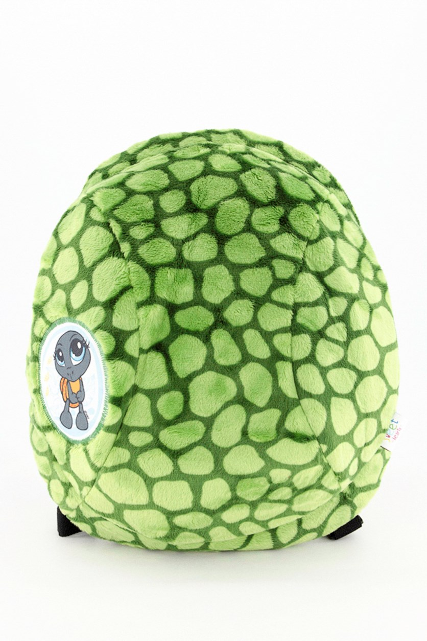 Backpack Turtle Plush Toy, Green