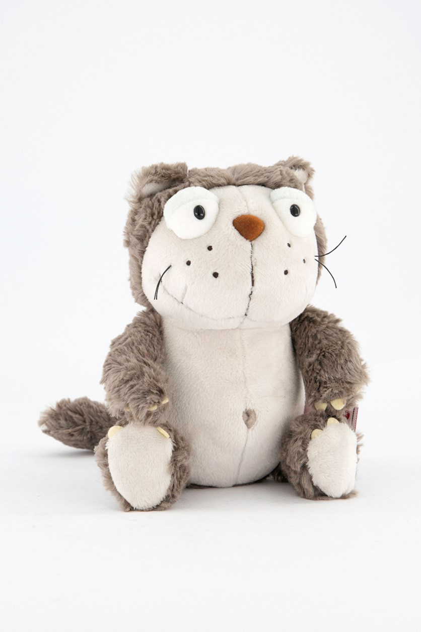 Lazy Dangling Stuff Toy, Brown/White