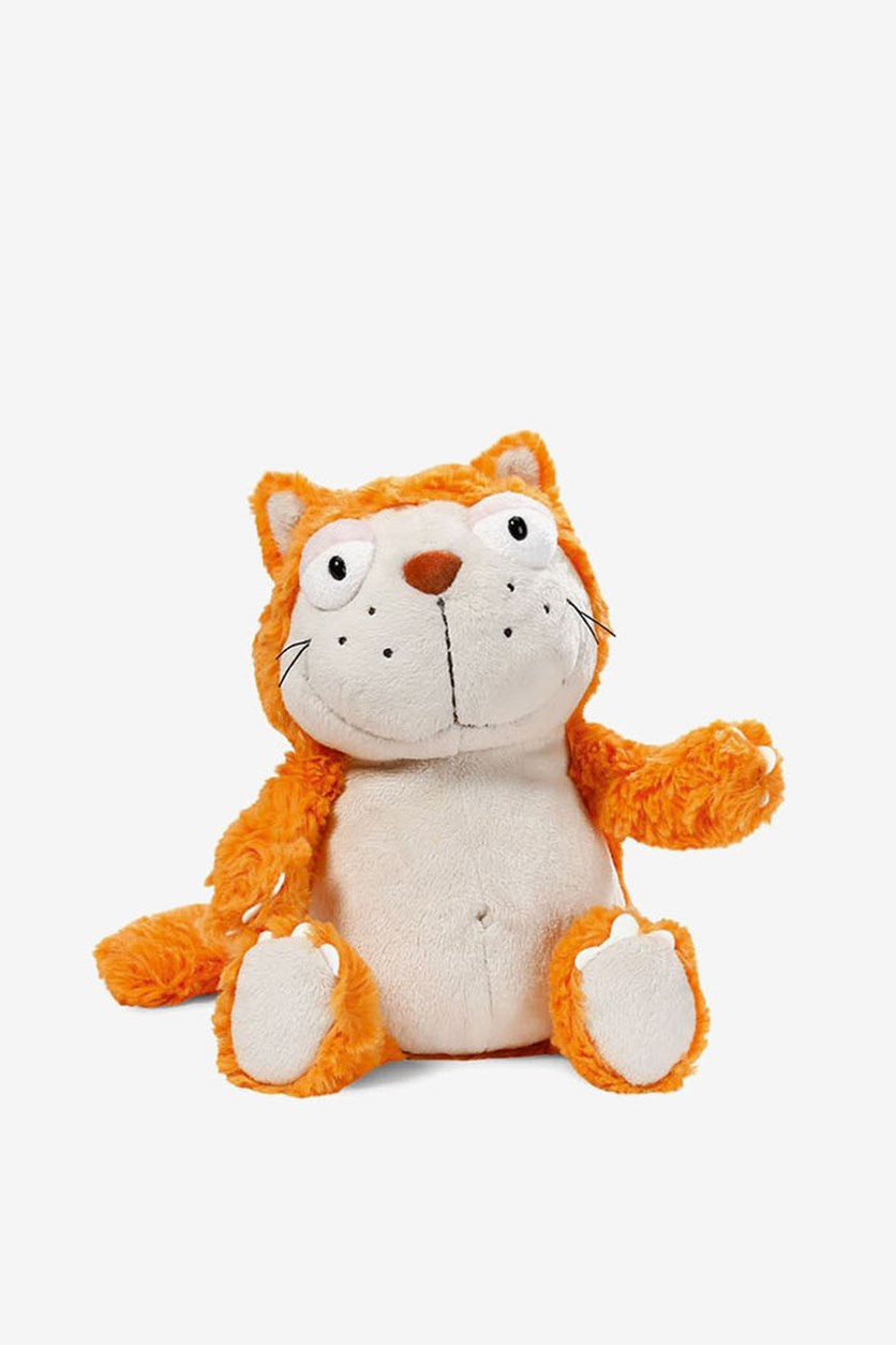 Cat Plush Floppy, Orange