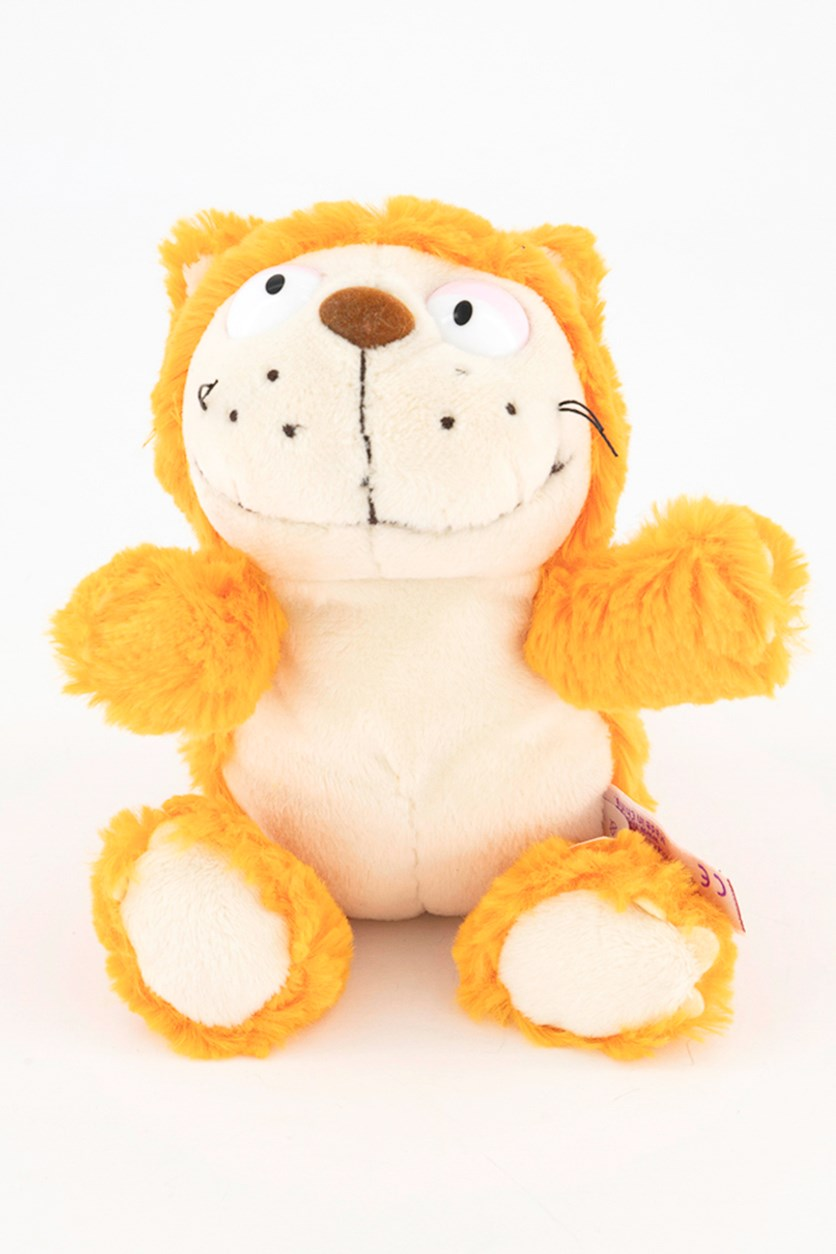 Cat Hungry Soft Toys, Orange