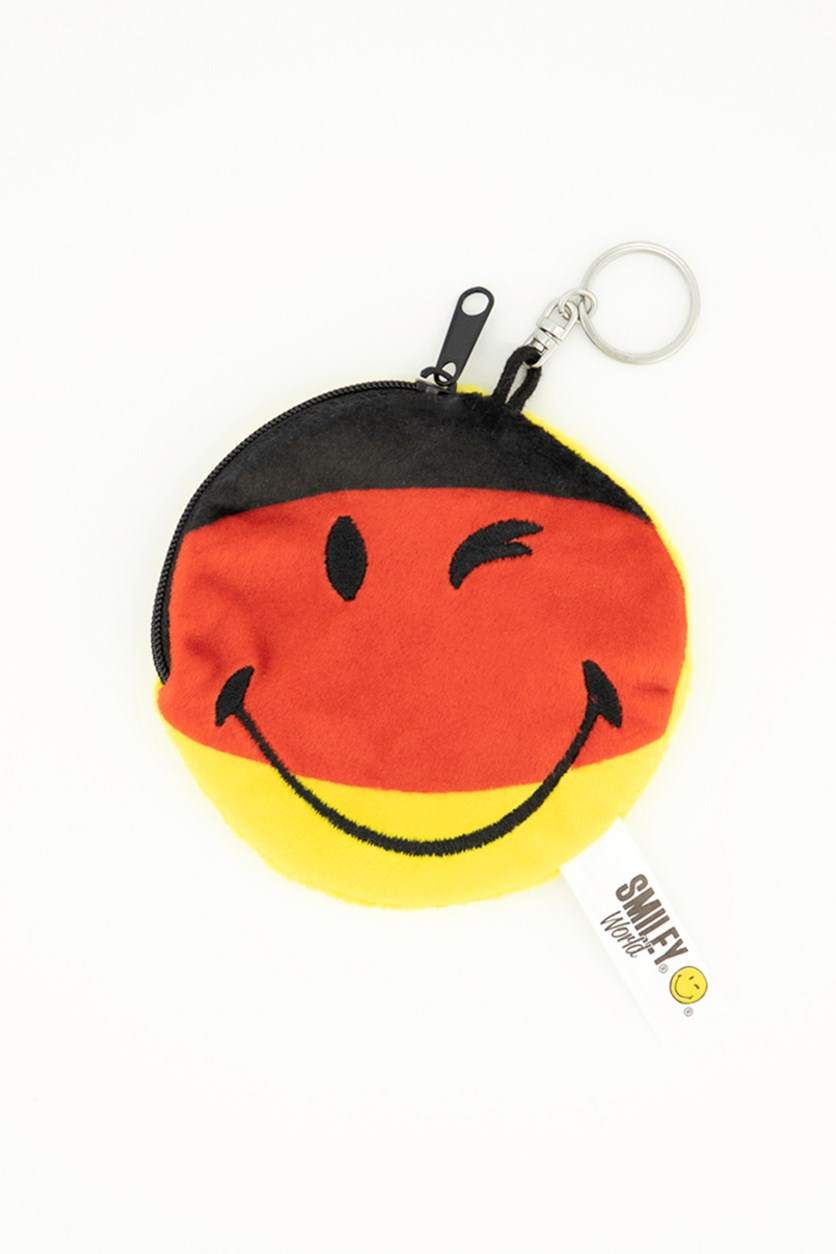 Kids Girls Coin Purse Wallet, Yellow /Red