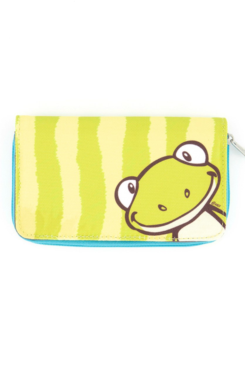 Kids Girl's Frog Purses Wallet, Green