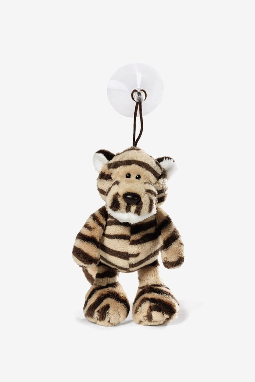 Kofu Tiger Stuffed Animal, Yellow/Brown