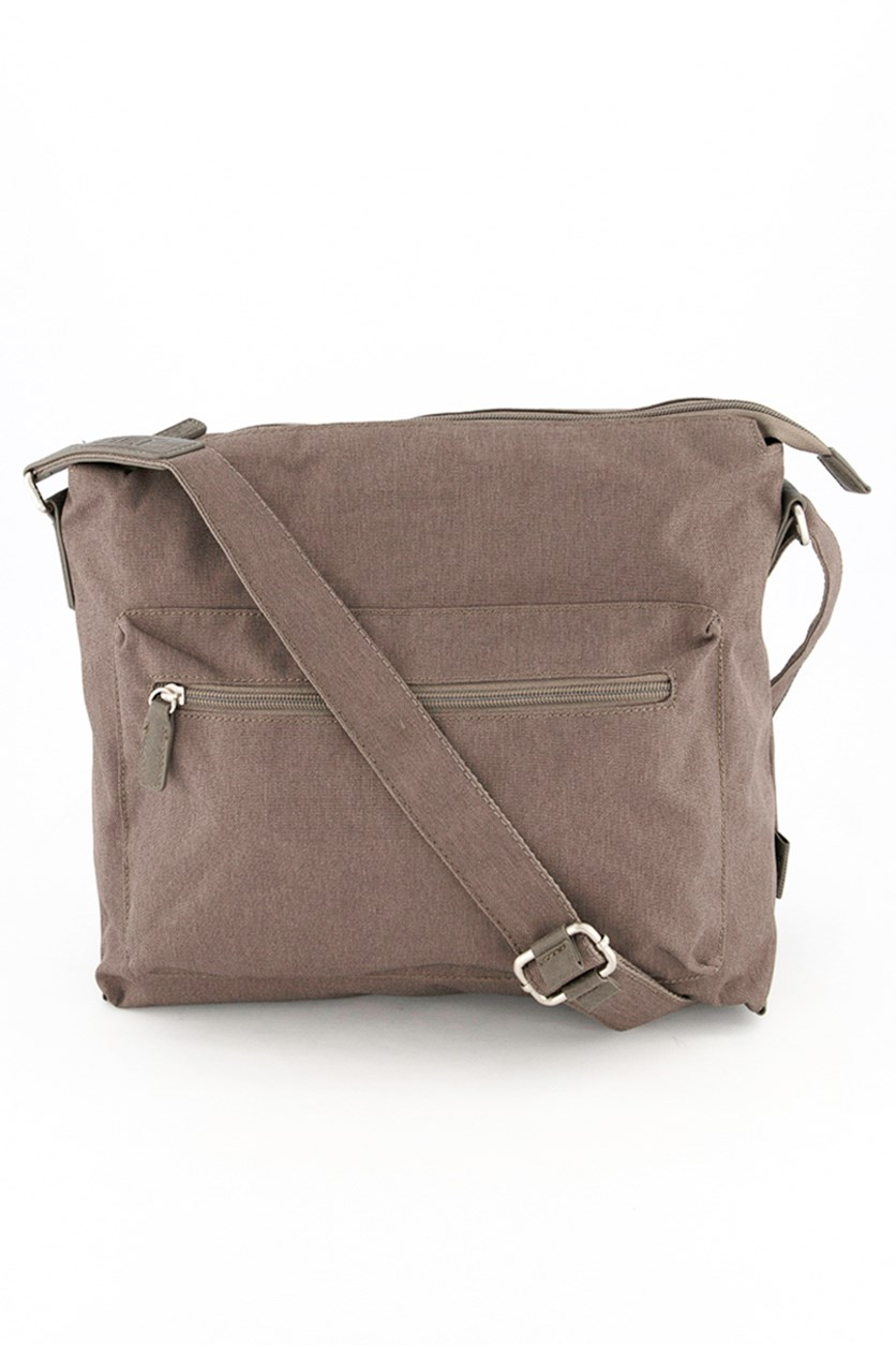 Men's Cross Body Bag, Taupe