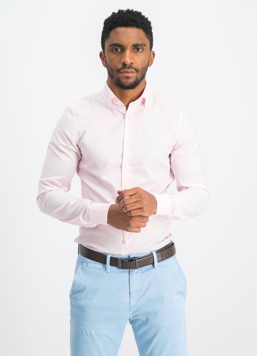 Men's Slim Fit Shirt, Pink