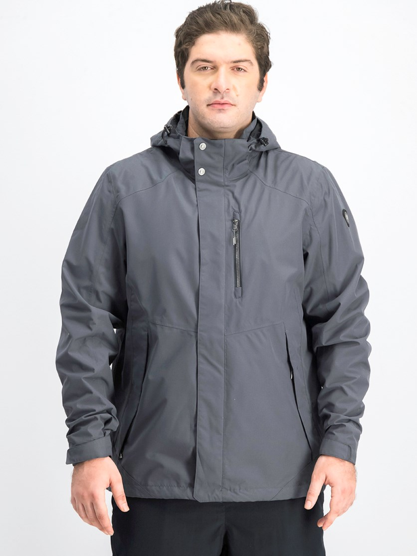 Mens Functional Jacket, Grey