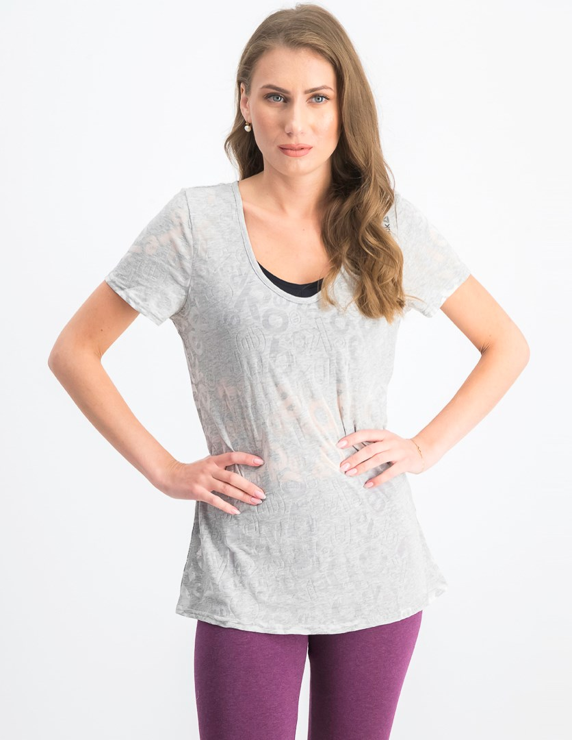 Womens El Bo Tee, Light Grey