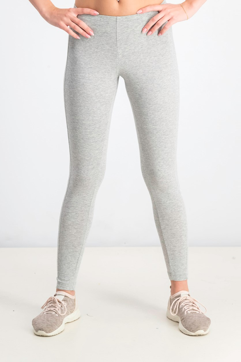 Classic Leggings, Medium Grey Heather
