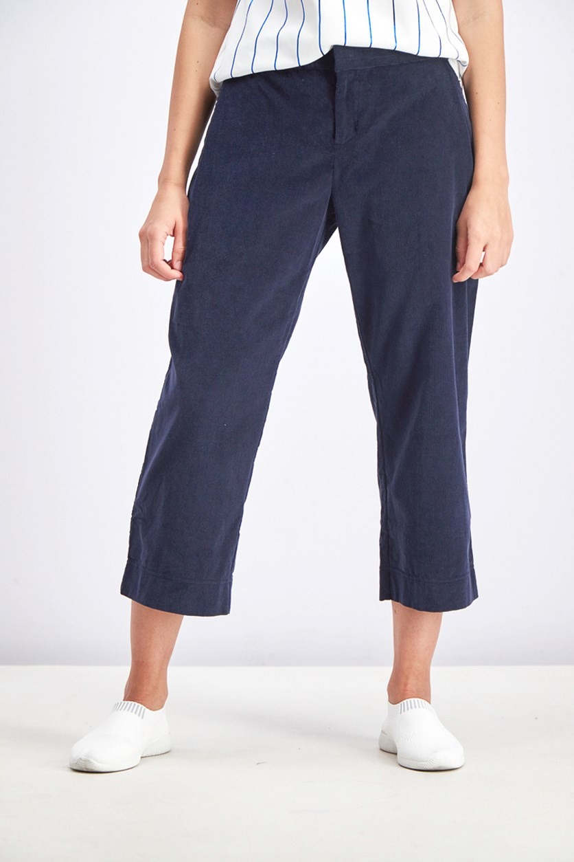 Women's Corduroy Pants, Legend Ink