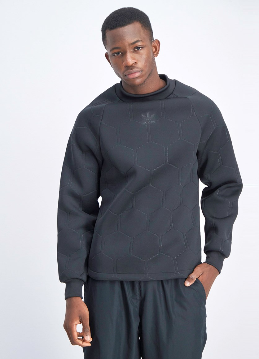 Men's Sonic Soccer Sweater, Black
