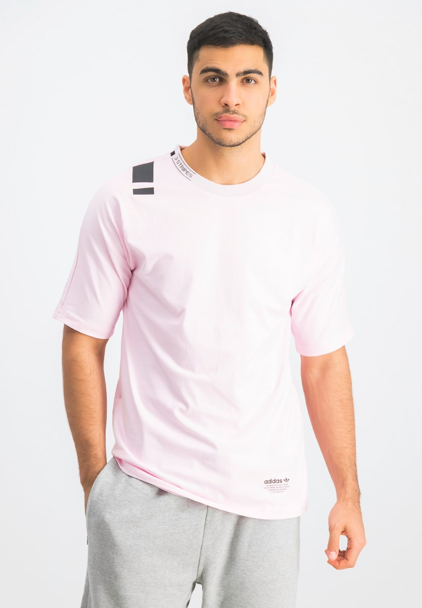 Men's Short Sleeve T-Shirt, Pink