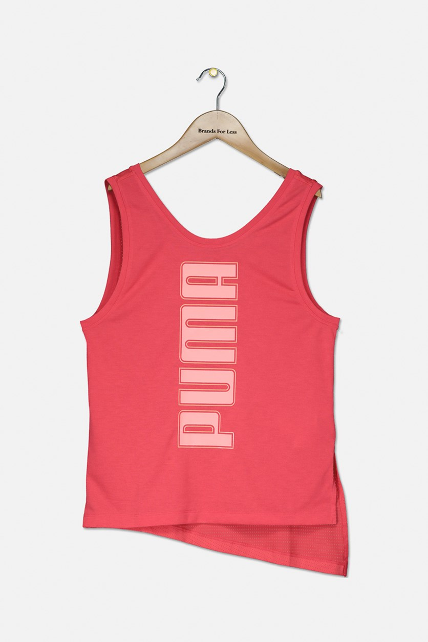 Girl's Softsport Tank Top, Coral