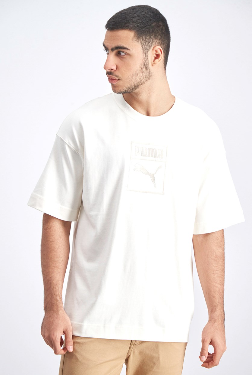 Men's Downtown T-Shirt, Offwhite