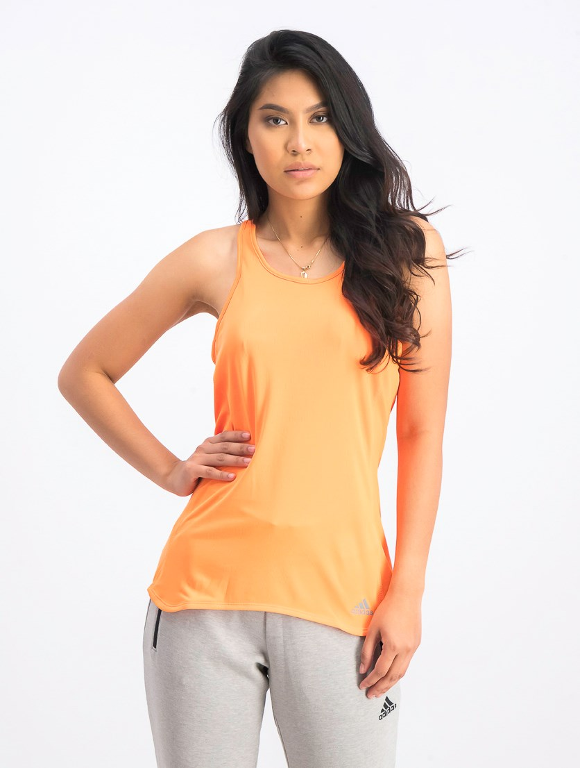 Women's Running Tank Tops, Orange