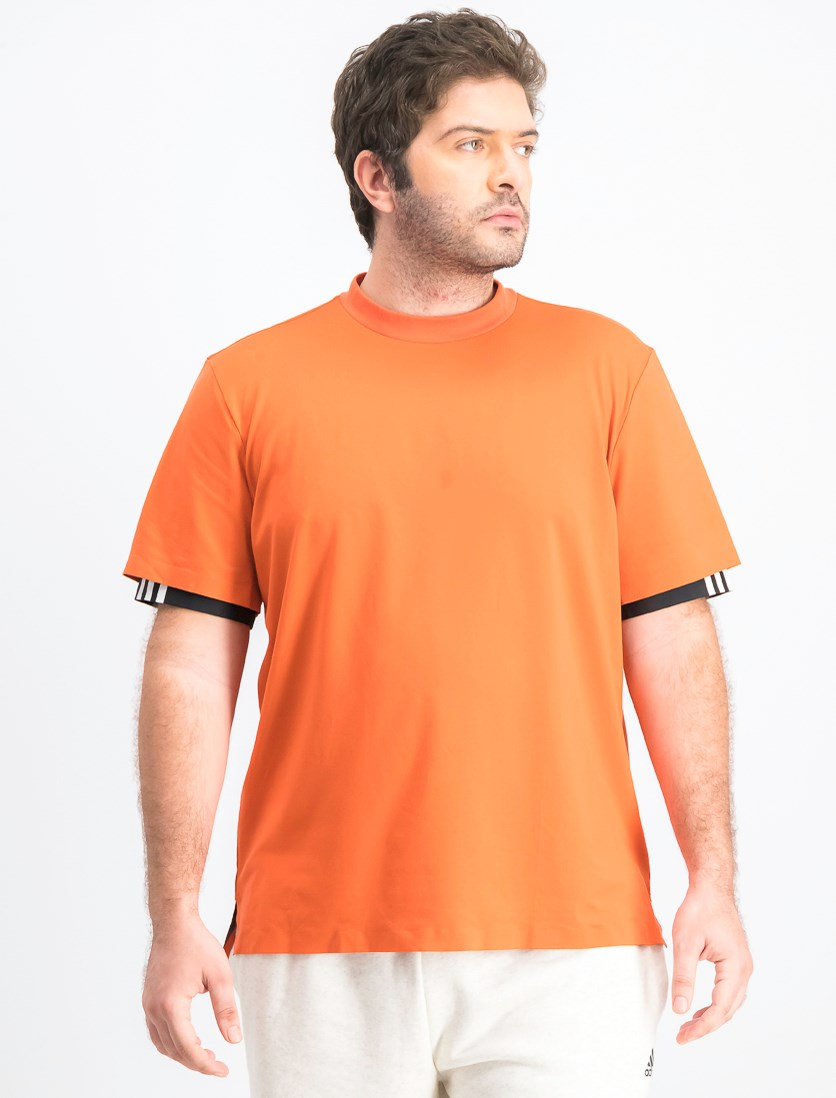 Men's Icon T-Shirt, Dark Orange